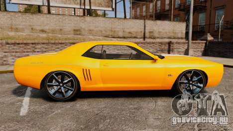 GTA V Gauntlet 450cui Turbocharged для GTA 4 вид слева