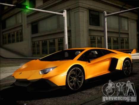 Lamborghini Aventador LP720 для GTA San Andreas вид справа