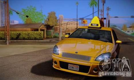 Declasse Premier Taxi для GTA San Andreas вид слева