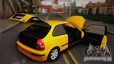 Honda Civic 1.4is TMC для GTA San Andreas вид сбоку
