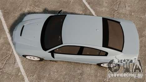 Dodge Charger 2012 для GTA 4 вид справа