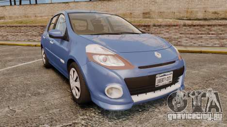 Renault Clio III Phase 2 для GTA 4