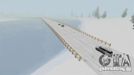 Локация Arctic Wonderland для GTA 4 третий скриншот