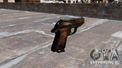Самозарядный пистолет Walther PPK для GTA 4 второй скриншот