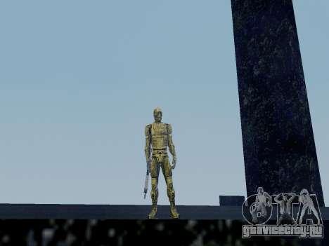 Корейский Нано-Костюм из Crysis для GTA San Andreas второй скриншот