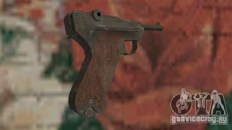 Люгер для GTA San Andreas второй скриншот