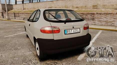 Daewoo Lanos S PL 1997 для GTA 4