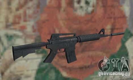 M4A1 из Saints Row 2 для GTA San Andreas второй скриншот
