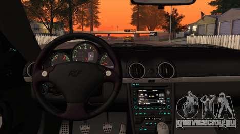 RUF RGT-8 для GTA San Andreas вид сверху