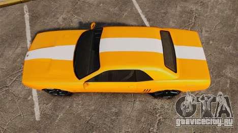GTA V Gauntlet 450cui Turbocharged для GTA 4 вид справа