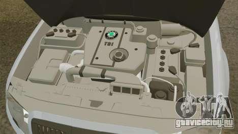 Skoda Superb 2006 Unmarked Police [ELS] для GTA 4 вид изнутри
