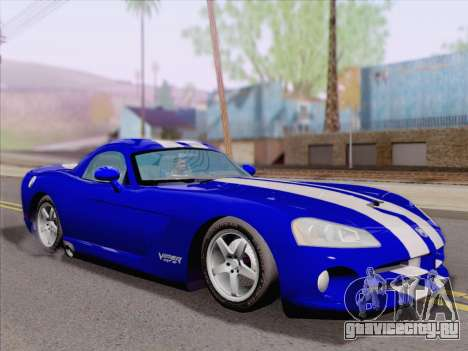 Dodge Viper SRT-10 Coupe для GTA San Andreas