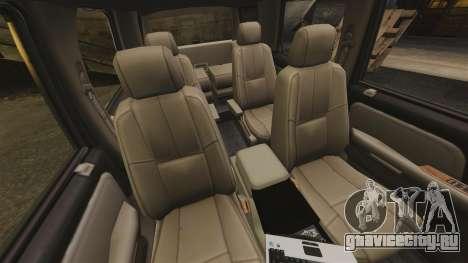 Chevrolet Tahoe Fire Chief v1.4 [ELS] для GTA 4 вид изнутри