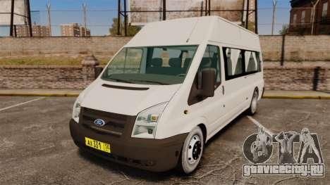 Ford Transit Passenger для GTA 4