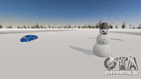 Локация Arctic Wonderland для GTA 4 второй скриншот