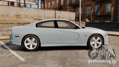 Dodge Charger 2012 для GTA 4 вид слева