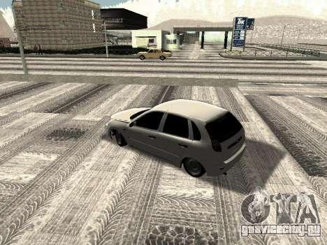 Ваз 2190-1119 для GTA San Andreas вид сзади слева