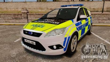 Ford Focus Estate Metropolitan Police [ELS] для GTA 4