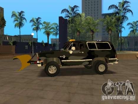 Chevrolet Blazer для GTA San Andreas вид слева