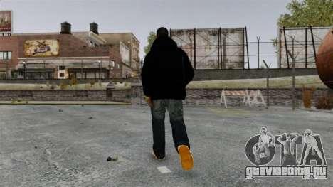 Чёрная толстовка для Playboy X для GTA 4 четвёртый скриншот