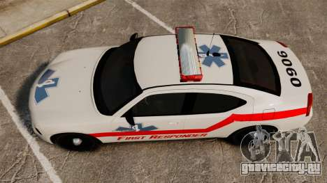 Dodge Charger First Responder [ELS] для GTA 4 вид справа