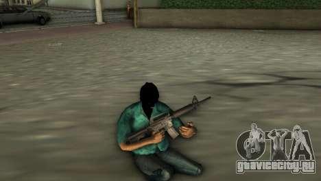 Карабин М4 для GTA Vice City третий скриншот