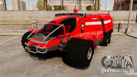 Pro Track SR2 Firetruck [ELS] для GTA 4
