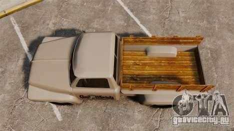 Hot Rod Truck Gas Monkey v2.0 для GTA 4 вид справа