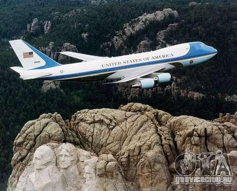 Boeing-747-400 Airforce one для GTA San Andreas салон