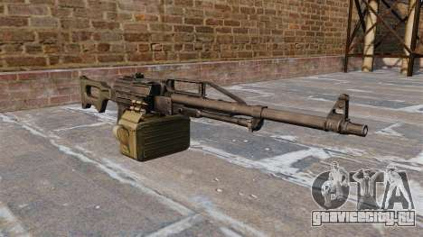 Единый пулемёт 6П41 для GTA 4