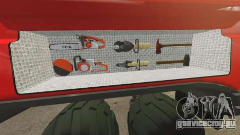 Pro Track SR2 Firetruck [ELS] для GTA 4 вид снизу