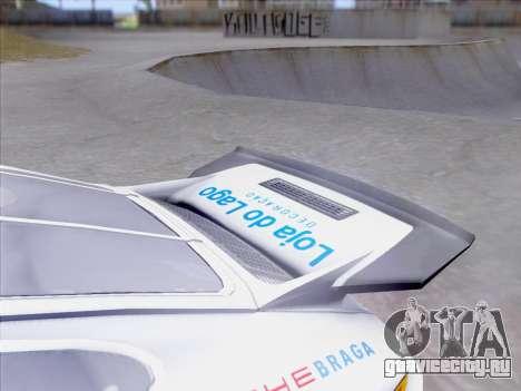 Porsche 911 RSR 3.3 skinpack 1 для GTA San Andreas вид сверху