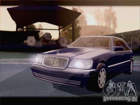 Mercedes-Benz S600 V12 V1.2 для GTA San Andreas вид справа