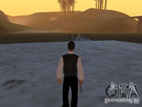 Миф про рыбака для GTA San Andreas второй скриншот