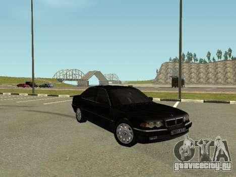 BMW 750i для GTA San Andreas