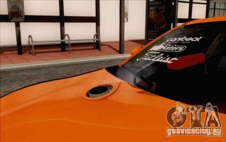Toyota GT86 Lowstance для GTA San Andreas вид сзади
