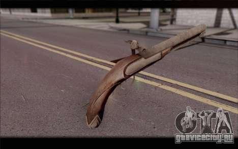 Кремневый Пистолет для GTA San Andreas второй скриншот