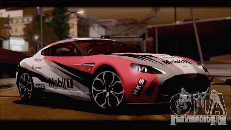 Aston Martin V12 Zagato 2012 [HQLM] для GTA San Andreas