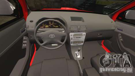 Toyota Hilux British Rapid Fire Cover [ELS] для GTA 4 вид сбоку