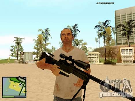 L115A3 Sniper Rifle для GTA San Andreas четвёртый скриншот