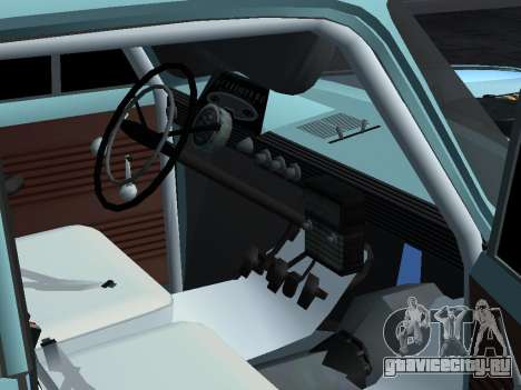 Москвич 412 Ралли для GTA San Andreas вид справа