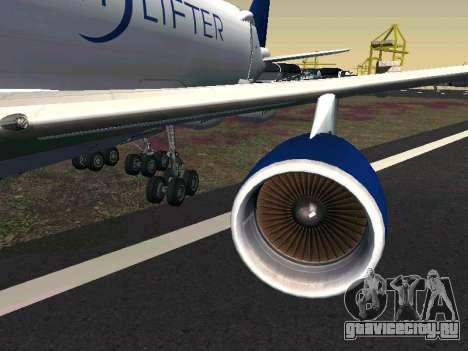 Boeing-747 Dream Lifter для GTA San Andreas вид слева