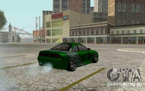 Nissan Silvia S14a для GTA San Andreas вид сзади слева