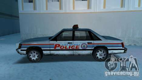 BETA Police Car для GTA Vice City вид слева