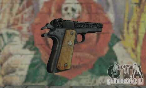 Colt 45 из The Darkness 2 для GTA San Andreas второй скриншот
