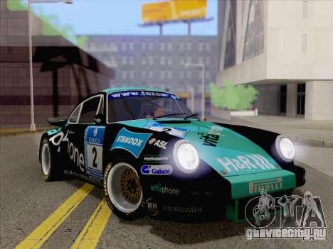 Porsche 911 RSR 3.3 skinpack 2 для GTA San Andreas вид справа