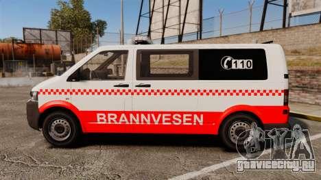 Volkswagen Transporter T5 2010 [ELS] для GTA 4 вид слева
