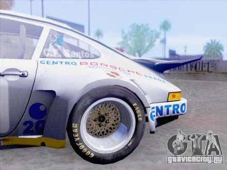 Porsche 911 RSR 3.3 skinpack 1 для GTA San Andreas вид сбоку