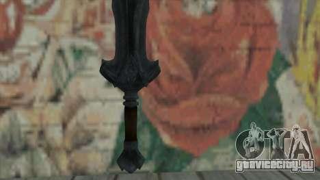 Имперский меч для GTA San Andreas второй скриншот