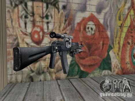 AK-47 из S.T.A.L.K.E.R. для GTA San Andreas второй скриншот